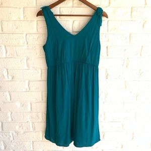 Charming Charlie Short Dress Or Tunic Top Teal NEW